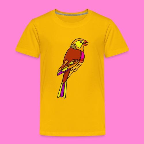 Geelgors illustratie - Kinderen Premium T-shirt