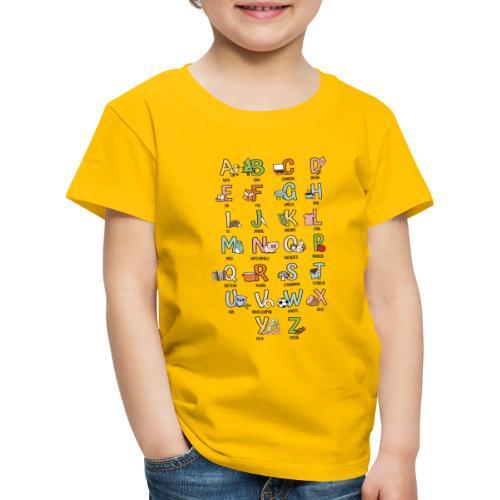 Vorschau: Gscheads ABC - Kinder Premium T-Shirt