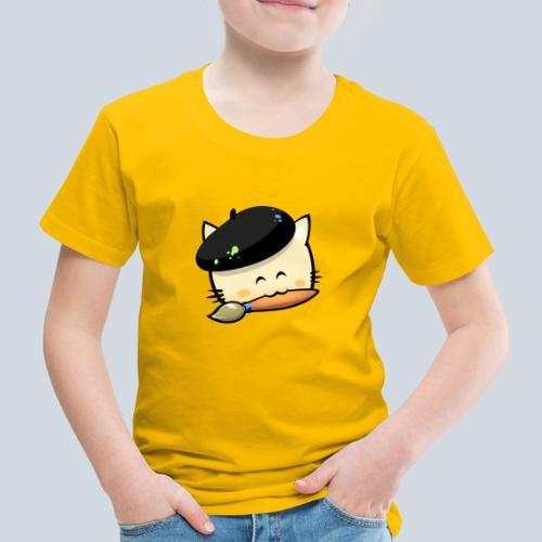 cat HD png - T-shirt Premium Enfant