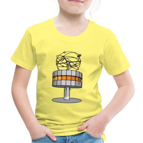 Weltzeituhr BERLIN c - Kinder Premium T-Shirt