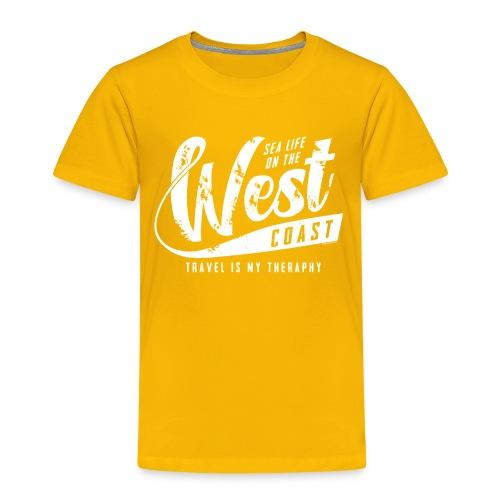 West Coast Sea surf clothes and gifts GP1306A - Lasten premium t-paita