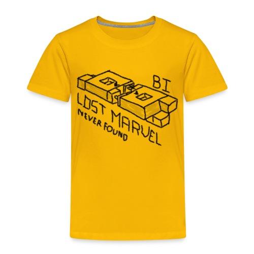 B1 - Lost - Premium-T-shirt barn