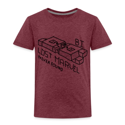 B1 - Lost - Premium-T-shirt barn