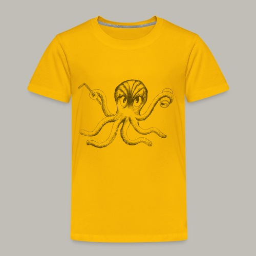 Black Octopus - T-shirt Premium Enfant