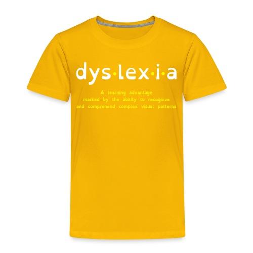Dyslexia Advantage - Kids' Premium T-Shirt