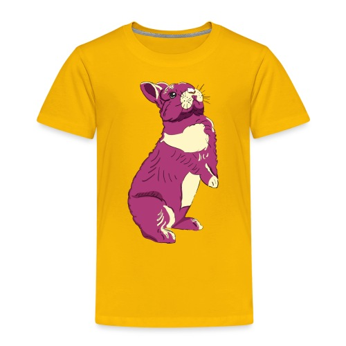 Kaninchen Hasen Häschen Bunny Zwergkaninchen - Kinder Premium T-Shirt