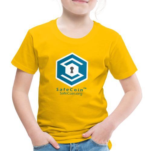 SafeCoin - When others just arent good enough :D - Kids' Premium T-Shirt