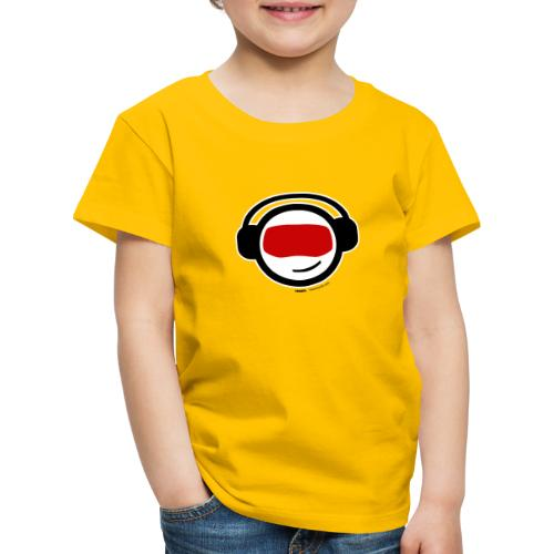 Hiber Head - black text - Kids' Premium T-Shirt