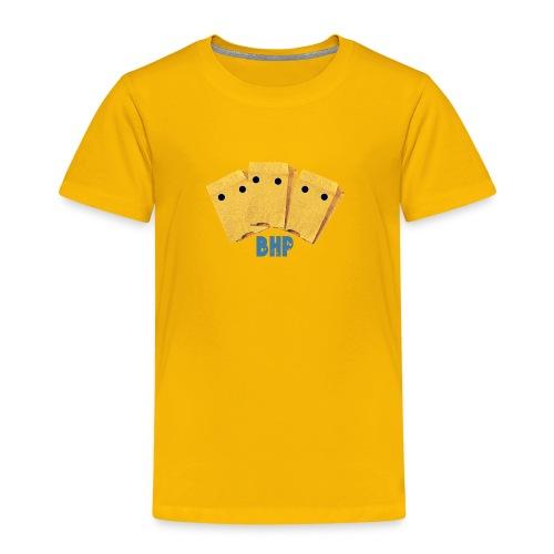 BHP_Redesign_font_effect - Børne premium T-shirt