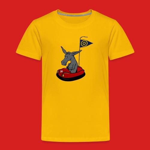 Autoscooter Esel - Kinder Premium T-Shirt