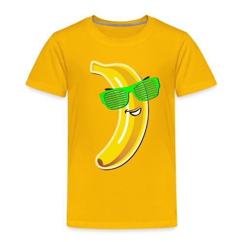 coole Banane Sonnenbrille heißer Sommer hot Party - Kids' Premium T-Shirt