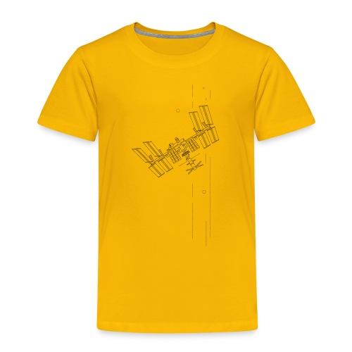 ISS inspiriertes Raumschiff - Kinder Premium T-Shirt