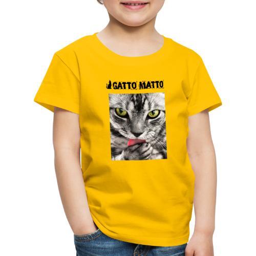 ilGattoMatto - Maglietta Premium per bambini
