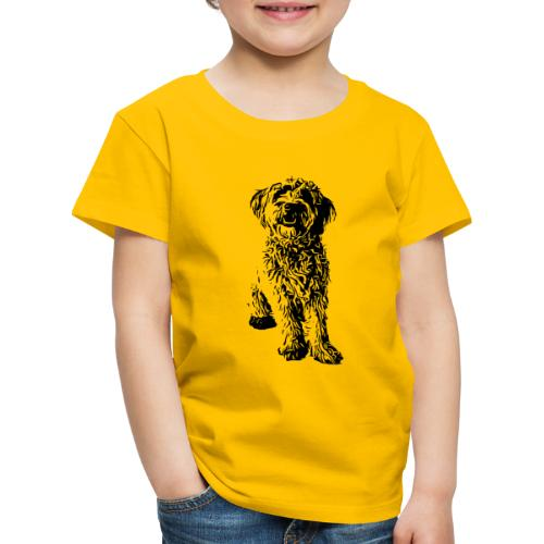 Golden Doodle Hunde Design Geschenkidee - Kinder Premium T-Shirt