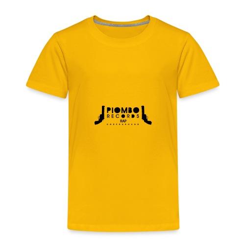 PIOMBO RECORDS NERO - Maglietta Premium per bambini