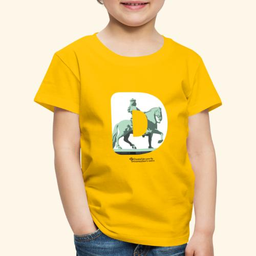 Düsseldorf T-Shirt Jan Wellem D weiß - Kinder Premium T-Shirt