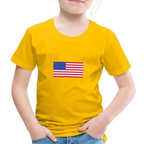 AVM 48 star flag in 3 color RGB VECTOR - Kinderen Premium T-shirt