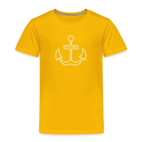 Anker-T-Shirt für Nachwuchspiraten - Kinder Premium T-Shirt