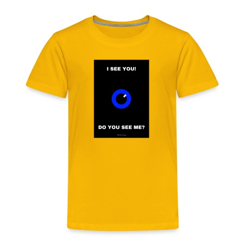 I SEE YOU! DO YOU SEE ME? - Premium-T-shirt barn
