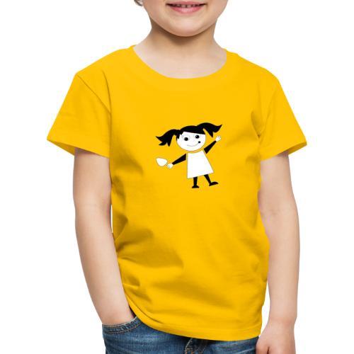 Röckchen Logo - Kinder Premium T-Shirt