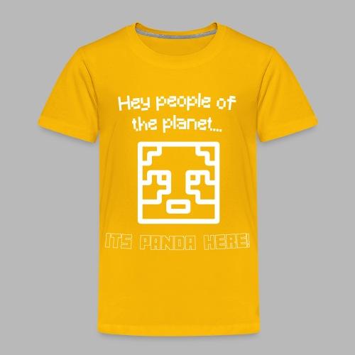 PlanetPanda Stroke - Kids' Premium T-Shirt
