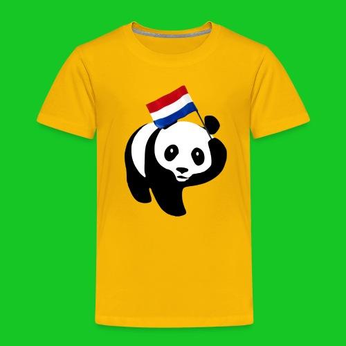 Nederlandse Panda png - Kinderen Premium T-shirt