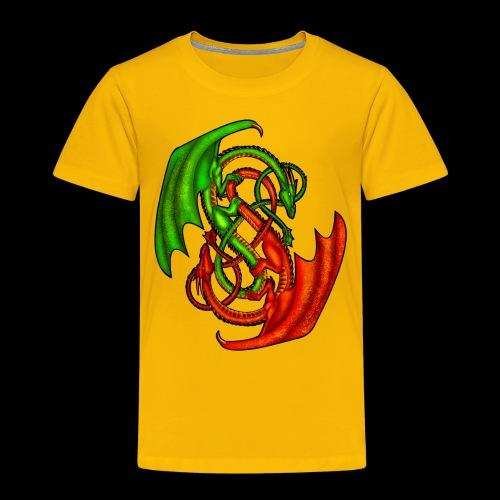 Entwined Dragons - Kids' Premium T-Shirt