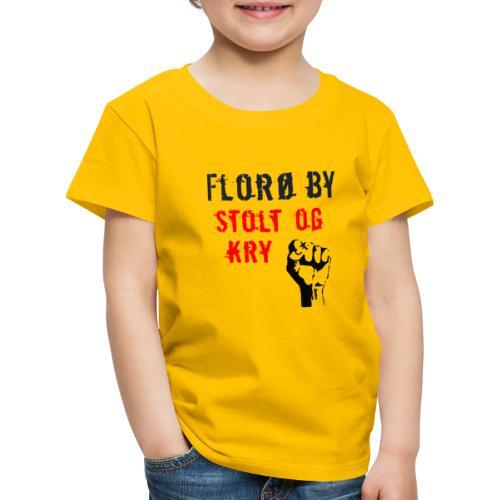 Florø by - Premium T-skjorte for barn