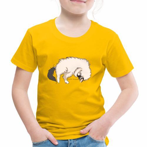 Sleeping Sacred Birman Cat - Kids' Premium T-Shirt