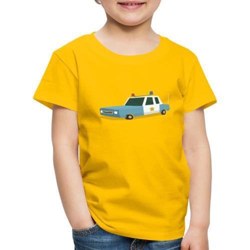 Police car t shirt - Kids' Premium T-Shirt