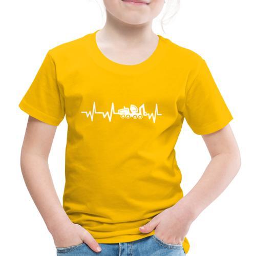 Forst | Herzschlag weiß - Kinder Premium T-Shirt