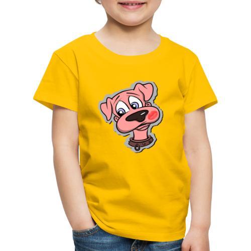 Hund zum Kuscheln - Kinder Premium T-Shirt
