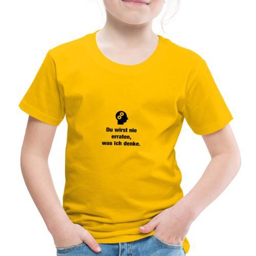 Der Denker - Kinder Premium T-Shirt