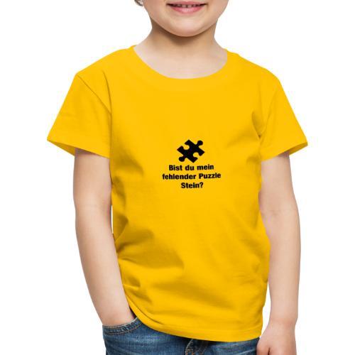 Puzzle Stein - Kinder Premium T-Shirt