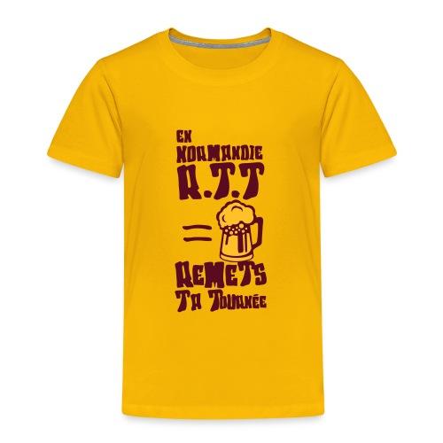 normandie rtt remet tournee biere alcool - T-shirt Premium Enfant