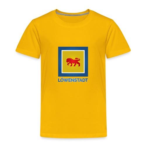 Löwenstadt Fan Design 11 - Kinder Premium T-Shirt