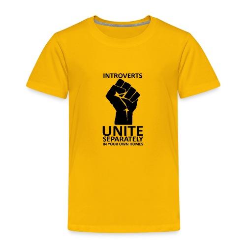 Introverts Unite - T-shirt Premium Enfant