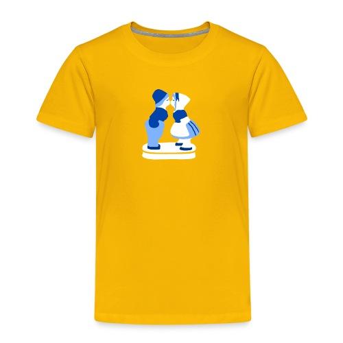 holländisches Pärchen koninginnedag t-shirt - Kinder Premium T-Shirt