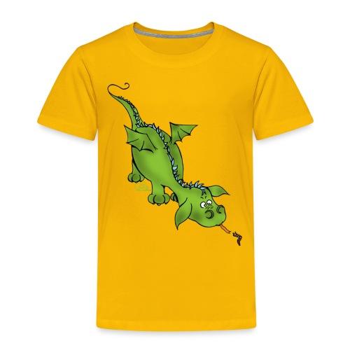 Neugierdrache - Kinder Premium T-Shirt