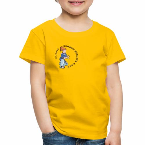 hdgkids typo bunt - Kinder Premium T-Shirt