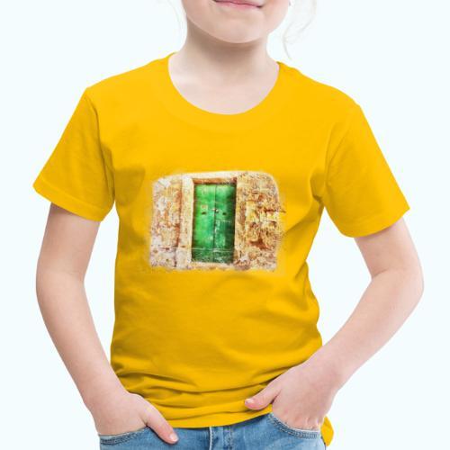 Vintage door - Kids' Premium T-Shirt