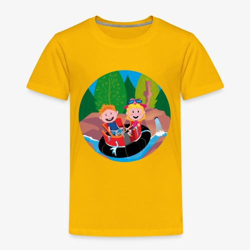 Themepark: Rapids - Kinderen Premium T-shirt