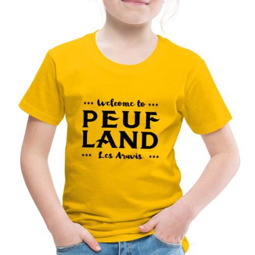 Peuf Land Aravis - Black - T-shirt Premium Enfant