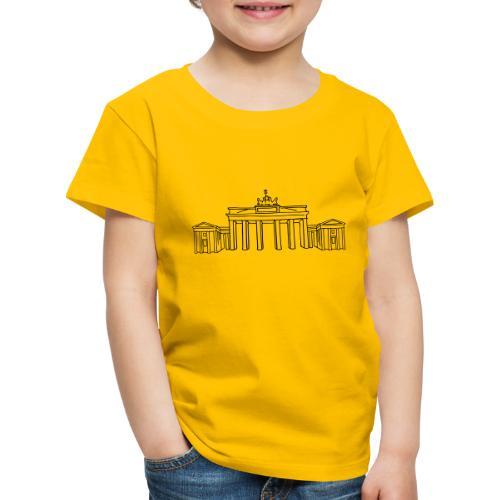 Brandenburger Tor Berlin - Kinder Premium T-Shirt