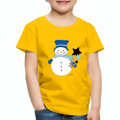 Snowtime-Blue - Kinder Premium T-Shirt