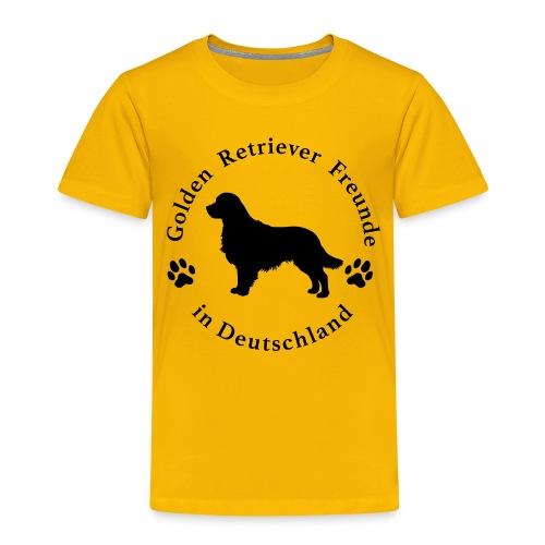golden-retriever-freunde_ - Kinder Premium T-Shirt