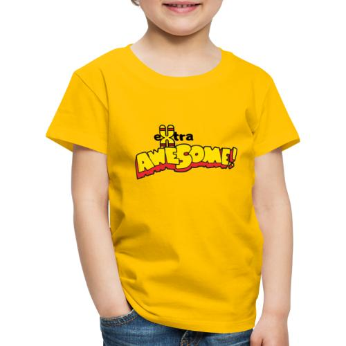 eXtra Awesome Down's Syndrome Tee - Kids' Premium T-Shirt