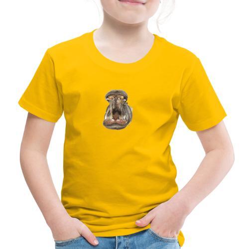 Flusspferd - Kinder Premium T-Shirt