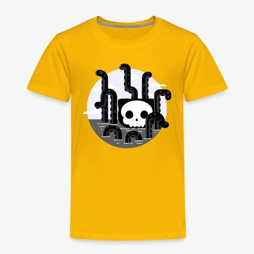 Cat octopus   Monster cat Github   Css   Web - Kids' Premium T-Shirt