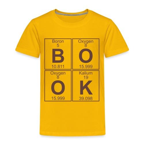 B-O-O-K (book) - Full - Kids' Premium T-Shirt